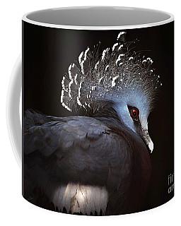 Victoria Crowned Pigeon Coffee Mug by Elaine Manley