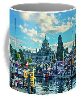 Victoria Harbor Boat Festival Coffee Mug