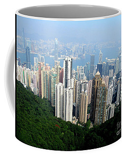 Coffee Mug featuring the photograph Victoria Peak 1 by Randall Weidner