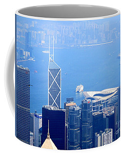 Coffee Mug featuring the photograph Victoria Peak 2 by Randall Weidner