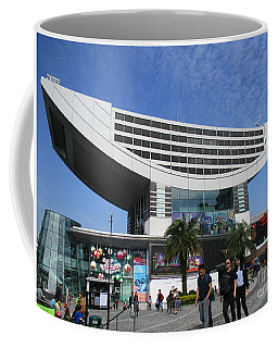 Coffee Mug featuring the photograph Victoria Peak 3 by Randall Weidner