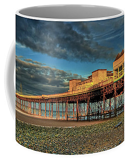 Coffee Mug featuring the photograph Victoria Pier 1899 by Adrian Evans