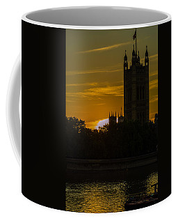 Victoria Tower In London Golden Hour Coffee Mug