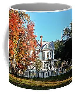 Victorian Autumn Coffee Mug by Linda Brown