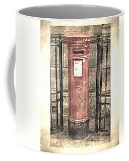 Victorian Red Post Box Coffee Mug