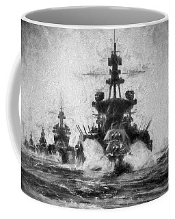 Coffee Mug featuring the photograph Victory At Sea by JC Findley