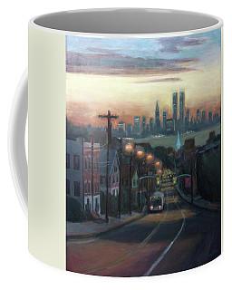 Victory Boulevard At Dawn Coffee Mug