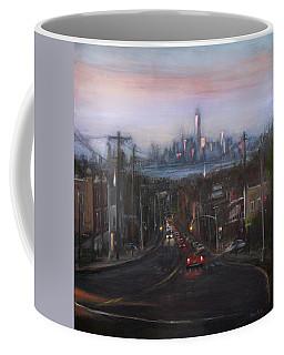 Victory Boulevard At Dusk Coffee Mug