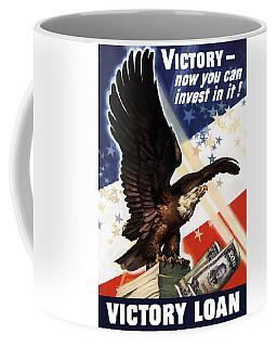 Victory Loan Bald Eagle Coffee Mug