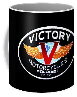 Victory Motorcycles Emblem Coffee Mug