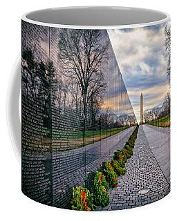 Vietnam War Memorial, Washington, Dc, Usa Coffee Mug