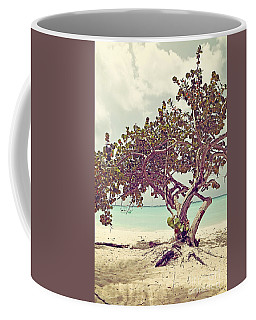 View At The Ocean With Boats In The Water Coffee Mug