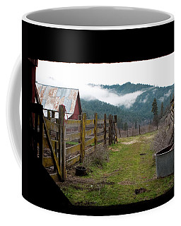 View From A Barn Coffee Mug