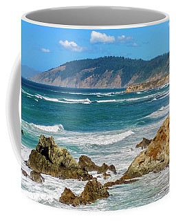 View From Abalone Point Coffee Mug