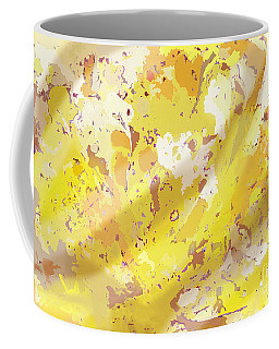 View From Above In Yellow Coffee Mug
