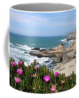 View From Bodega Head In Bodega Bay Ca - 3 Coffee Mug