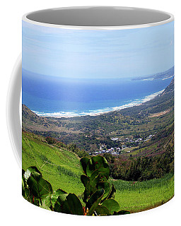 Coffee Mug featuring the photograph View From Cherry Hill, Barbados by Kurt Van Wagner