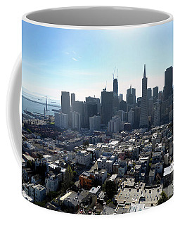 Coffee Mug featuring the photograph View From Coit Tower by Steven Spak