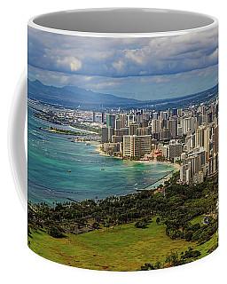 View From Diamond Head Coffee Mug