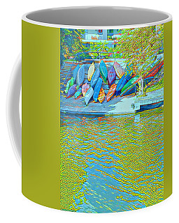 View From East Side Boardwalk Coffee Mug