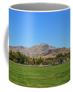 View From Gem Island Sport Complex Coffee Mug