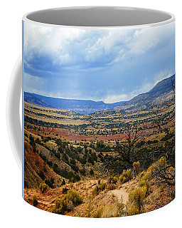 Coffee Mug featuring the photograph View From Ghost Ranch, Nm by Kurt Van Wagner
