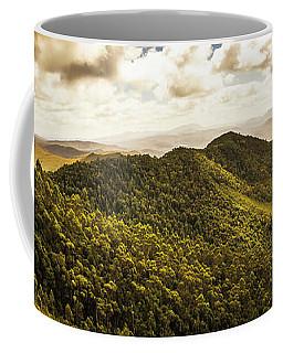 View From Halfway Up Mount Zeehan Coffee Mug