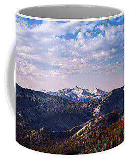Coffee Mug featuring the photograph View From May Lake by Sharon Seaward