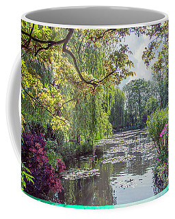 View From Monet's Bridge Coffee Mug