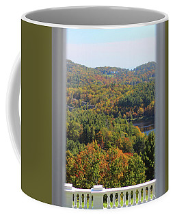 View From Moses Cone 2014b Coffee Mug