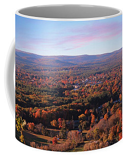 View From Mount Tom In Easthampton, Ma Coffee Mug