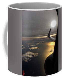 View From Plane  Coffee Mug