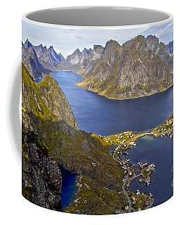 View From Reinebringen Coffee Mug