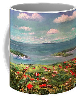 View From Saint Thomas In The Caribbean Coffee Mug