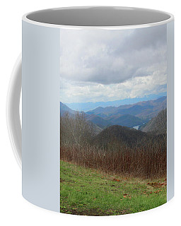 View From Silers Bald 2015c Coffee Mug