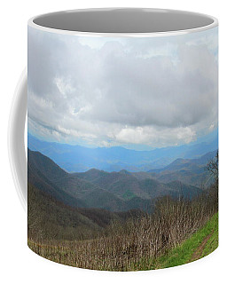 View From Silers Bald 2015d Coffee Mug