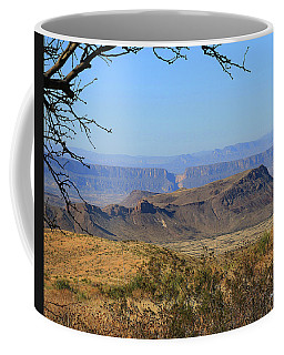 View From Sotol Vista Coffee Mug