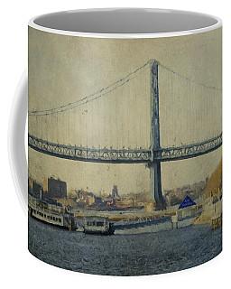 View From The Battleship Coffee Mug