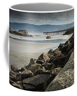 View From The Beach Coffee Mug