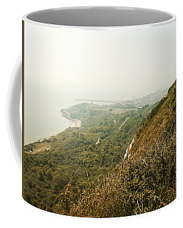 View From The Cliffs, Folkestone, Kent, England Coffee Mug