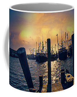 Coffee Mug featuring the photograph View From The Dock by John Rivera