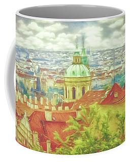 View From The High Ground - Prague  Coffee Mug