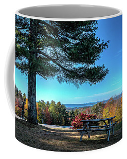 View From The Hill Coffee Mug