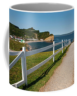 Coffee Mug featuring the photograph View In Perce Quebec by Elena Elisseeva