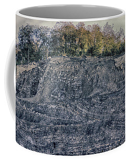 View Of A Quarry Coffee Mug