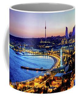 Coffee Mug featuring the photograph View Of Baku by Fabrizio Troiani
