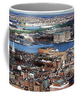 View Of Charlestown Navy Yard Coffee Mug
