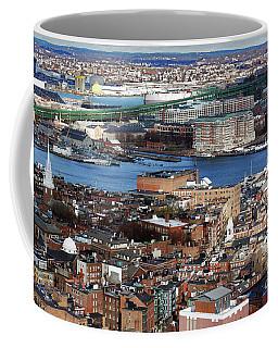 View Of Charlestown Navy Yard Coffee Mug