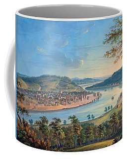 Coffee Mug featuring the painting View Of Cincinnati From Covington by John Caspar Wild