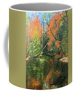 View Of Creek From Lake Huron Coffee Mug